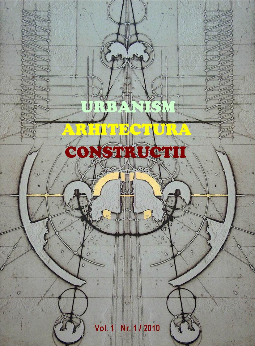 Urbanism. Architecture. Constructions, vol. 1, issue no. 1