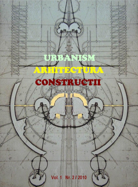 Urbanism. Architecture. Constructions, vol. 1, issue no. 2