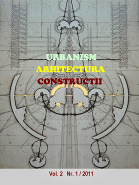 Urbanism. Architecture. Constructions, vol. 2, issue no. 1