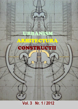 Urbanism. Architecture. Constructions, vol. 3, issue no. 1