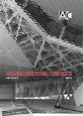 Urbanism. Architecture. Constructions, vol. 3, issue no. 2