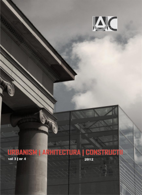 Urbanism. Architecture. Constructions, vol. 3, issue no. 4