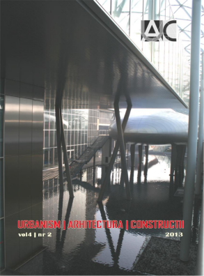 Urbanism. Architecture. Constructions, vol. 4, issue no. 2