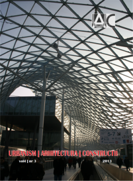 Urbanism. Architecture. Constructions, vol. 4, issue no. 3