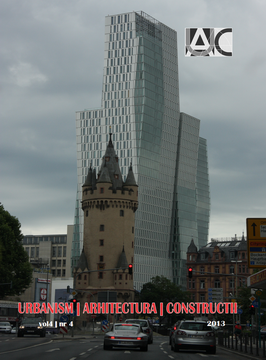 Urbanism. Architecture. Constructions, vol. 4, issue no. 4