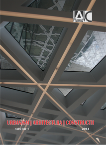Urbanism. Architecture. Constructions, vol. 5, issue no. 1
