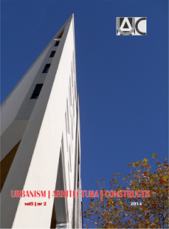 Urbanism. Architecture. Constructions, vol. 5, issue no. 2