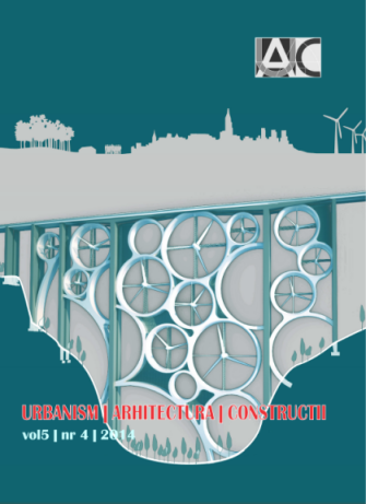 Urbanism. Architecture. Constructions, vol. 5, issue no. 4
