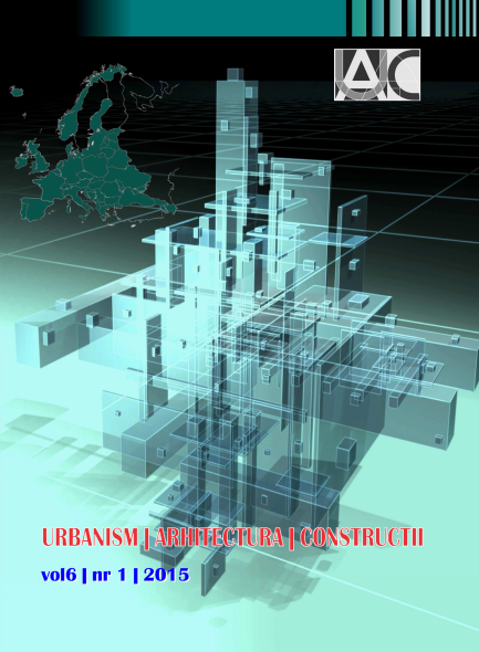 Urbanism. Architecture. Constructions, vol. 6, issue no. 1
