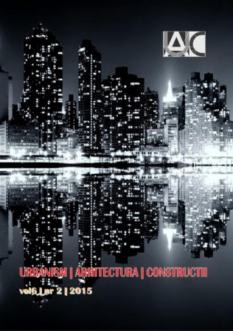 Urbanism. Architecture. Constructions, vol. 6, issue no. 2