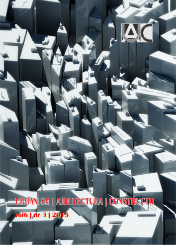 Urbanism. Architecture. Constructions, vol. 6, issue no. 3