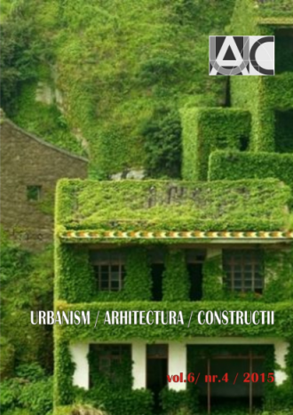 Urbanism. Architecture. Constructions, vol. 6, issue no. 4