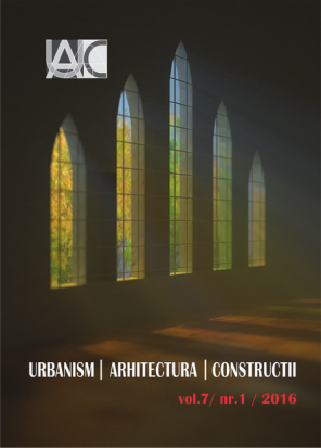 Urbanism. Architecture. Constructions, vol. 7, issue no. 1