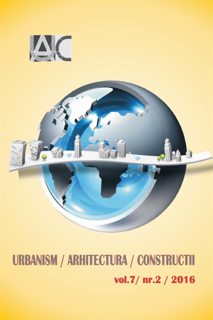 Urbanism. Architecture. Constructions, vol. 7, issue no. 2