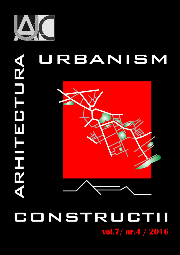 Urbanism. Architecture. Constructions, vol. 7, issue no. 4