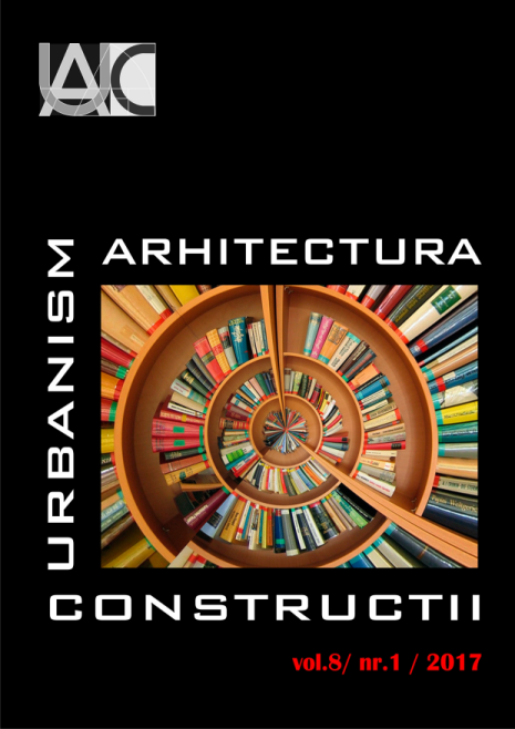 Urbanism. Architecture. Constructions, vol. 8, issue no. 1