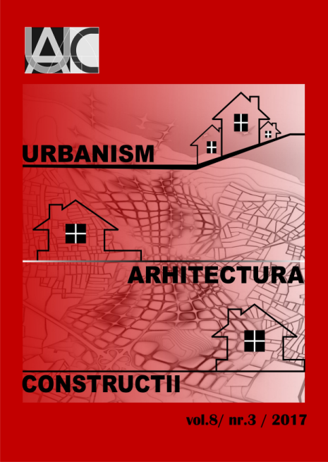 Urbanism. Architecture. Constructions, vol. 8, issue no. 3