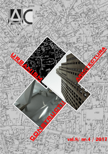 Urbanism. Architecture. Constructions, vol. 8, issue no. 4
