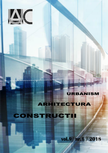 Urbanism. Architecture. Constructions, vol. 9, issue no. 1