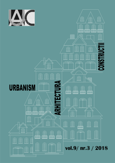 Urbanism. Architecture. Constructions, vol. 9, issue no. 3