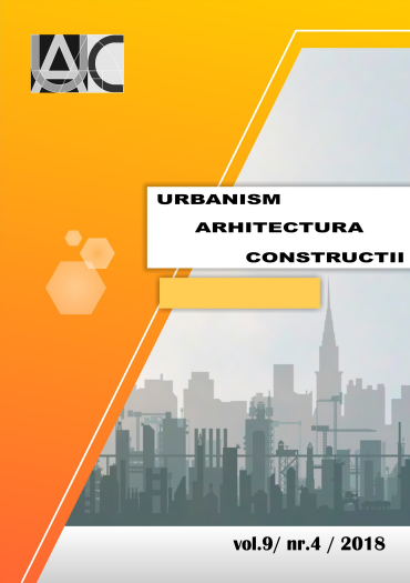 Urbanism. Architecture. Constructions, vol. 9, issue no. 4